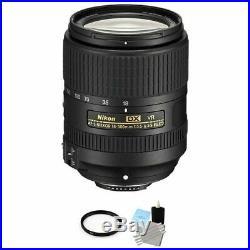 Nikon AF-S DX NIKKOR 18-300mm f/3.5-6.3G ED VR Lens + UV Filter & Cleaning Kit