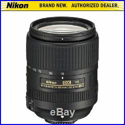 Nikon AF-S DX NIKKOR 18-300mm f/3.5-6.3G ED VR Zoom Lens with Auto Focus