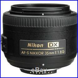 Nikon AF-S DX NIKKOR 35mm f/1.8G Lens For Nikon DSLR Cameras