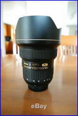 Nikon AF-S NIKKOR 14-24 mm f/2.8G ED Lens 2163 Mint Condition