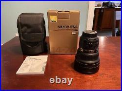 Nikon AF-S NIKKOR 14-24mm F/2.8G ED Ultra Wide Angle Lens Excellent condition