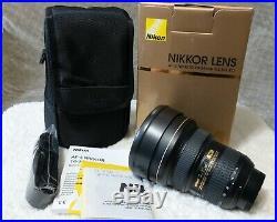 Nikon AF-S NIKKOR 14-24mm F/2.8G Ultra Wide Angle Lens No Reserve