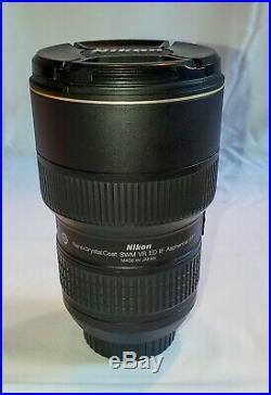 Nikon AF-S NIKKOR 16-35mm f/4G ED VR Lens USA model. Near Mint Condition