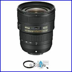 Nikon AF-S NIKKOR 18-35mm f/3.5-4.5G ED Lens + UV Filter & Cleaning Kit