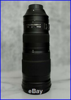 Nikon AF-S NIKKOR 200-500 mm f/5.6 ED IF M/A SIC SWM VR Lens Black