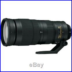 Nikon AF-S NIKKOR 200-500 mm f/5.6 ED IF M/A SIC SWM VR Lens Black 20058