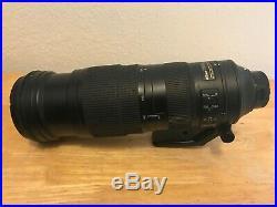 Nikon AF-S NIKKOR 200-500 mm f/5.6E ED AF-S VR