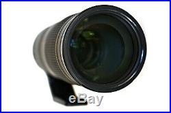 Nikon AF-S NIKKOR 200-500mm f/5.6E ED VR 20058 Lens with Accessories