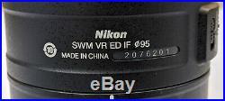 Nikon AF-S NIKKOR 200-500mm f/5.6E ED VR Telephoto Zoom Lens