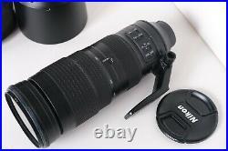 Nikon AF-S NIKKOR 200-500mm f/5.6E ED VR Telephoto Zoom Lens MINT Condition