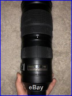 Nikon AF-S NIKKOR 200-500mm f/5.6E ED VR Telephoto Zoom Lens NEAR MINT