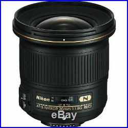 Nikon AF-S NIKKOR 20mm f/1.8G ED Lens 20051