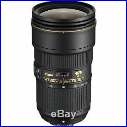 Nikon AF-S NIKKOR 24-70mm f/2.8E ED VR Lens for Camera Bodies