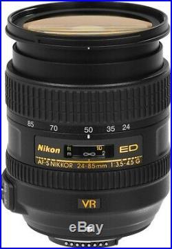 Nikon AF-S NIKKOR 24-85mm f/3.5-4.5G ED VR Lens 2204