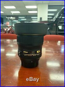 Nikon AF-S NIKKOR 35mm f/1.4G Wide Angle Lens Black