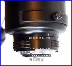 Nikon AF-S NIKKOR 400mm f/2.8D II IF-ED Lens (Auto-Focus Not Working)
