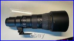 Nikon AF-S NIKKOR 500mm f/5.6E PF ED VR Telephoto Camera Lens Black