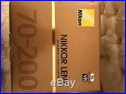 Nikon AF-S NIKKOR 70-200mm f/2.8G ED VR II Black