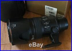 Nikon AF-S NIKKOR 70-200mm f/2.8G ED VR II US BOX CASE Fully CLA'D SHARP shooter