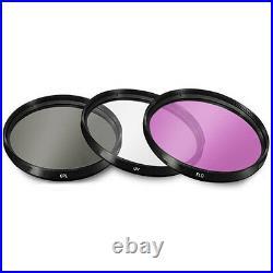 Nikon AF-S NIKKOR 85mm f/1.8G Lens + UV + FLD + CPL + Blower Brush + Lens Pen