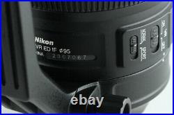 Nikon AF-S Nikkor 200-500mm F/5.6 E ED VR Lens #28932 G41