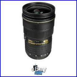 Nikon AF-S Nikkor 24-70mm f/2.8G ED Autofocus Lens withCleaning Kit