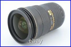 Nikon AF-S Nikkor 24-70mm f2.8G ED IF Nano Crystal Coat SWM Lens Excellent++++