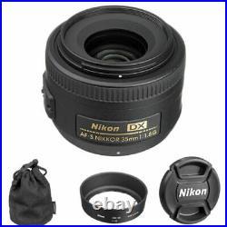 Nikon AF-S Nikkor 35mm f/1.8G DX Lens 2183
