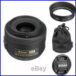 Nikon AF-S Nikkor 35mm f/1.8G DX Lens for Digital SLR Camera Body