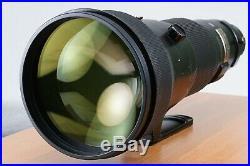 Nikon AF-S Nikkor 600mm f4 D II ED IF SWM Lens US Model