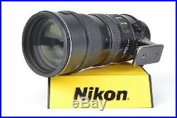 Nikon AF-S Nikkor 70-200mm f/2.8 G VR ED IF SWM Telephoto Zoom Lens #C68715