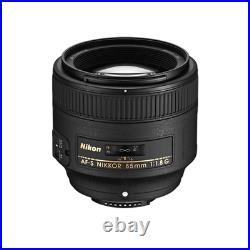 Nikon AF-S Nikkor 85mm f/1.8G Lens for Nikon D3400, D3500, D5200, D5300, D7100