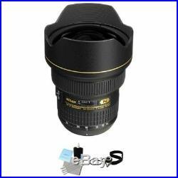 Nikon AF-S Zoom Nikkor 14-24mm f/2.8G ED AF Lens Bundle