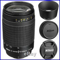 Nikon AF Zoom-NIKKOR 70-300mm f/4-5.6G Lens (Black) 1928