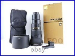 Nikon Af-s Nikkor 500mm F5.6 Pf Ed Vr Lens Full Frame Fx Boxed Mint