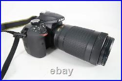 Nikon D3400 24.2 MP DSLR Camera Kit AF-P DX Nikkor 70-300mm Lens