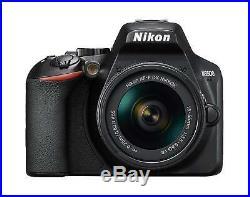 Nikon D3500 24.2MP DX-Format CMOS Wifi Digital Camera + AF-P Nikkor 18-55mm Lens