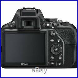 Nikon D3500 Digital SLR Camera Black + AF-P NIKKOR 18-55mm VR Lens +32GB Top Kit