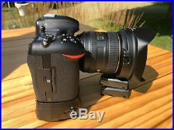 Nikon D500 with Nikkor 16-80 VR Lens and Nikon MB-D17 Grip + Extras