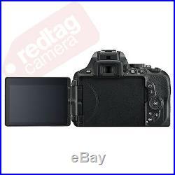 Nikon D5600 DSLR Camera with AF-S DX NIKKOR 18-140mm f/3.5-5.6G ED VR Lens
