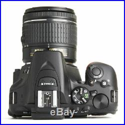 Nikon D5600 Digital SLR Camera With Nikkor 18-55mm VR AF-P Zoom Lens Kit
