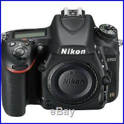 Nikon D750 DSLR Camera Body + AF-S NIKKOR 24-120mm f/4G ED VR Lens