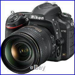 Nikon D750 DSLR Camera with AF-S NIKKOR 24-120mm f/4G ED VR Lens 1549
