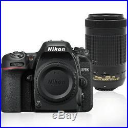 Nikon D7500 20.9MP Digital SLR Camera with 70-300mm AF-P DX Nikkor Lens