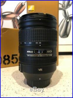 Nikon D850 45.7MP Digital Camera with Nikkor lens and hardshell backpack