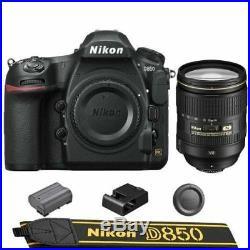 Nikon D850 DSLR Camera + AF-S NIKKOR 24-120mm f/4G ED VR Lens