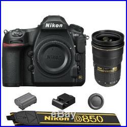 Nikon D850 DSLR Camera Body + AF-S NIKKOR 24-70mm f/2.8G ED Lens