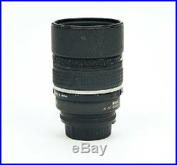 Nikon DC-NIKKOR 105mm f/2 D RF AF M/A Lens Sharp, Pro Workhorse
