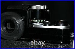 Nikon F Black Photomic FTn camera with a Nikkor 50mm F1.4 lens Near Mint