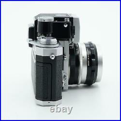 Nikon F Body with Nikkor-S Auto 5cm F/2 Lens & Photomic FTN Prism